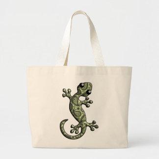 Green White Climbing Gecko Lizard Bags