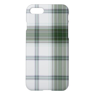 Green White Giant Tartan Plaid iPhone 8/7 Case