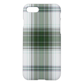 Green White Massive Tartan Plaid iPhone 8/7 Case