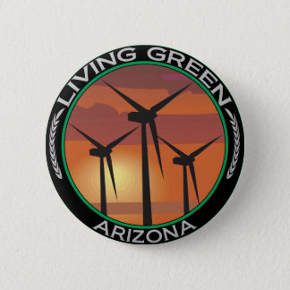 Green Wind Arizona 6 Cm Round Badge
