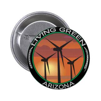 Green Wind Arizona 6 Cm Round Badge