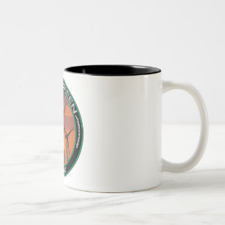 Green Wind Iowa Two-Tone Coffee Mug