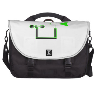 Green Wind Speed and Weather Vane Bag For Laptop