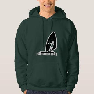 Green Windsurfing Hoodie