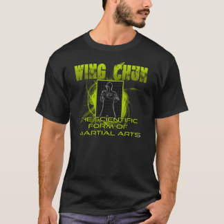 Green Wing Chun Science and Art shirt