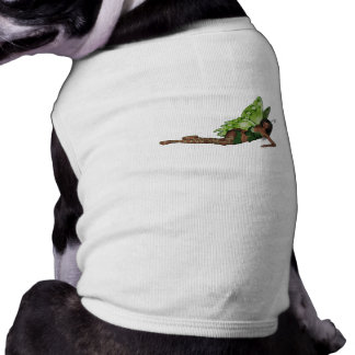 Green Wing Lady Faerie 4 - 3D Fairy - Pet Clothing