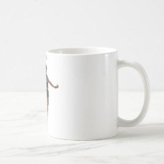 Green Wing Lady Faerie 8 - 3D Fairy - Basic White Mug