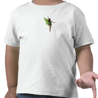 Green Wing Lady Faerie 8 - 3D Fairy - Tee Shirt
