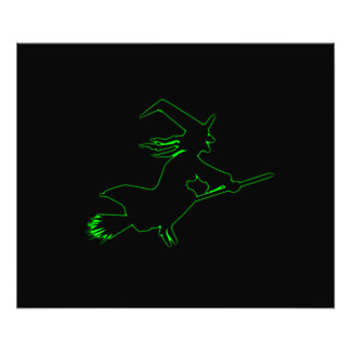 Green Witch Photo Print