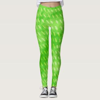 Green with Rain Leggings