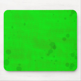 Green with water stains mouse pad