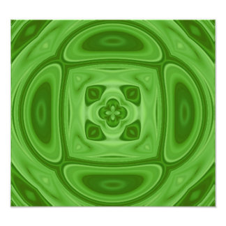 Green wood abstract pattern photographic print