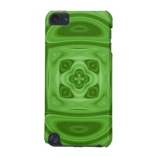 Green wood abstract pern iPod touch (5th generation) covers