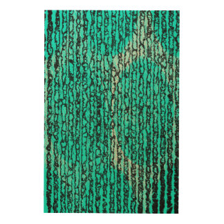 green wood prints