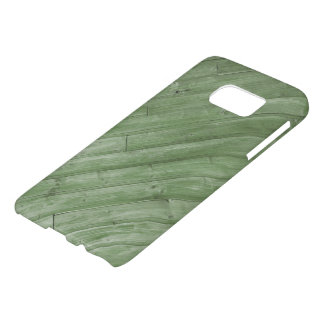 Green Wood Texture Samsung Galaxy S7 case