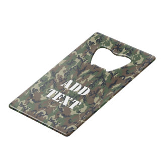 Green Woodland Military Camouflage Pattern