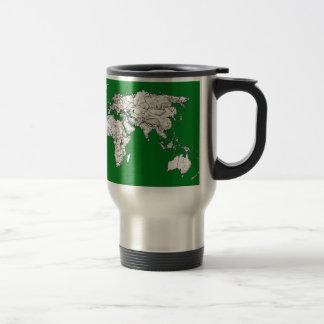 green world atlas travel mug