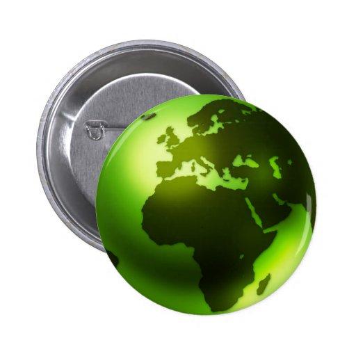 Green World Button