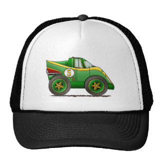 Green World Manufactures Championship Car Hats