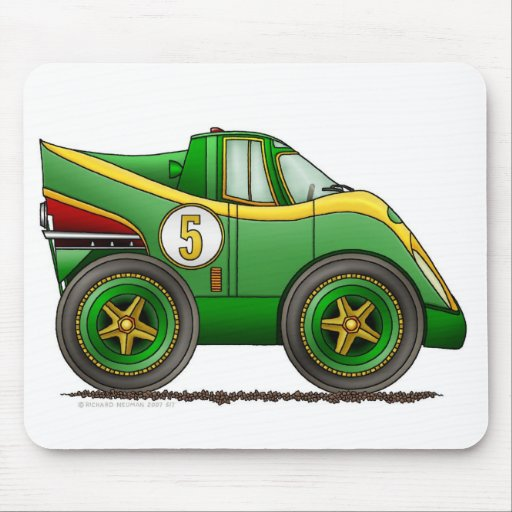 Green World Manufactures Championship Car Mouse Pa Mouse Mat