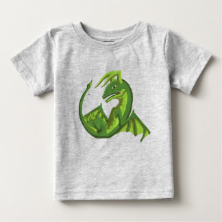 Green Wyvern Baby Dragon Jersey Shirt