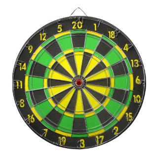 Green & Yellow Dart Board