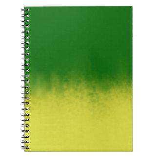 Green Yellow Hue Notebook