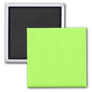 Green Yellow Square Magnet