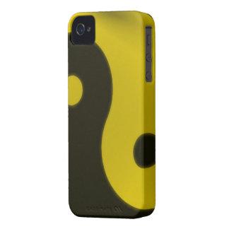 green yin yang iphone 4 barely case