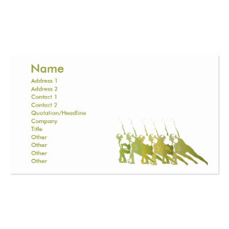 Green Yoga - Business Pack Of Standard Business Cards