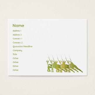Green Yoga - Chubby Business Card