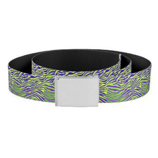 Green Zebra Belt