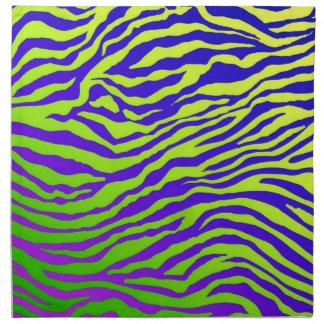 Green Zebra Napkin