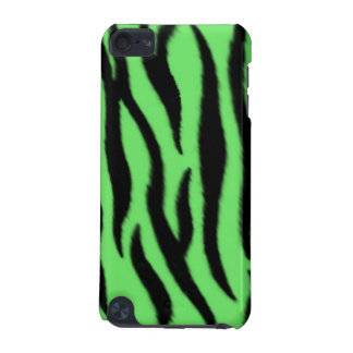 Green zebra pattern iPod touch (5th generation) cases
