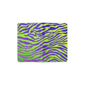 Green Zebra Pocket Moleskine Notebook