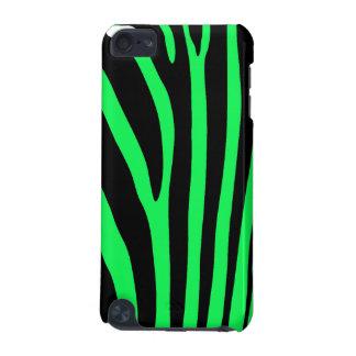 Green Zebra Stripe iPod Touch 5G Case