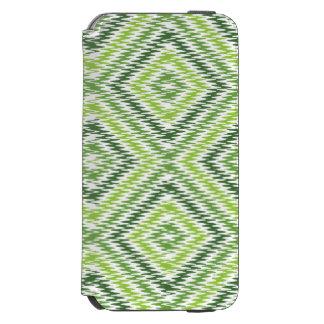 Green Zig Zag Incipio Watson™ iPhone 6 Wallet Case