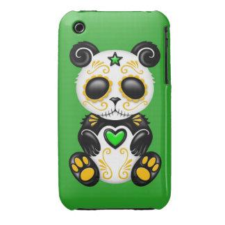 Green Zombie Sugar Panda iPhone 3 Case-Mate Case