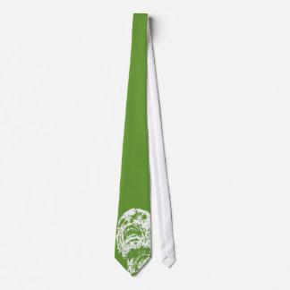 Green Zombie Tie - Romero Style