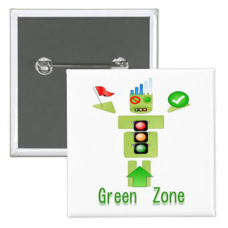 GREEN Zone Energy Efficient Only 15 Cm Square Badge