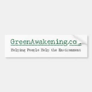 GreenAwakening com bumper sticker