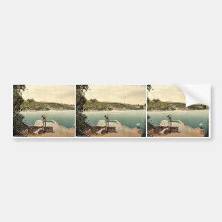 Greenaway Ferry, Dartmouth, England classic Photoc Bumper Sticker