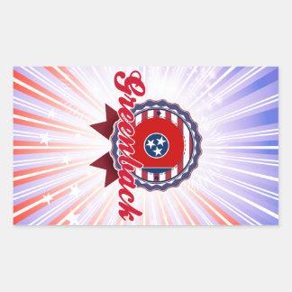 Greenback, TN Rectangle Sticker