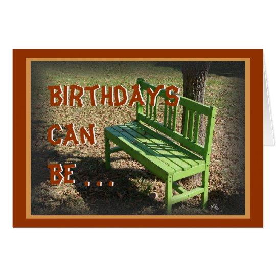 GreenBench Birthday or anything Card-customise Card