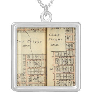 Greenburg, New York 10 Silver Plated Necklace