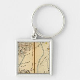Greenburg, New York 13 Key Ring
