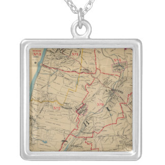 Greenburg, New York 14 Silver Plated Necklace