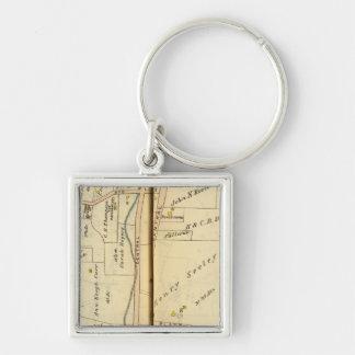 Greenburg, New York 2 Key Ring