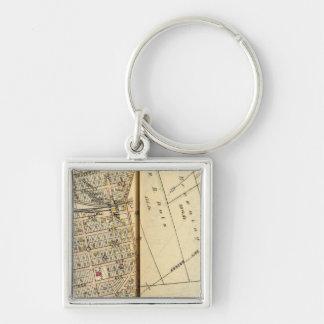 Greenburg, New York 4 Key Ring