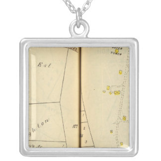 Greenburg, New York 7 Silver Plated Necklace